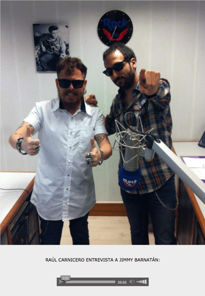 Rock FM - Entrevista Jimmy Barnatán