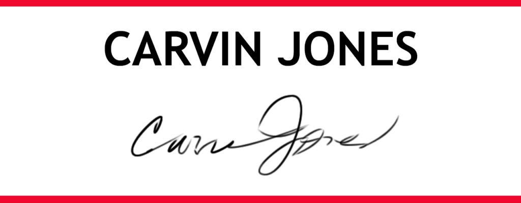 Roster de artistas - Carvin Jones