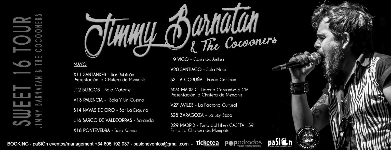 Jimmy Barnatán - Sweet Tour 16