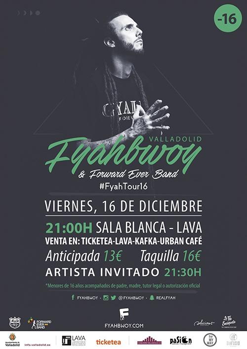 Swan Fyahbwoy - Conexión Valladolid