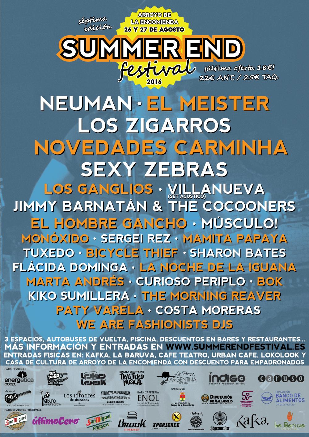 Summer End festival 2016