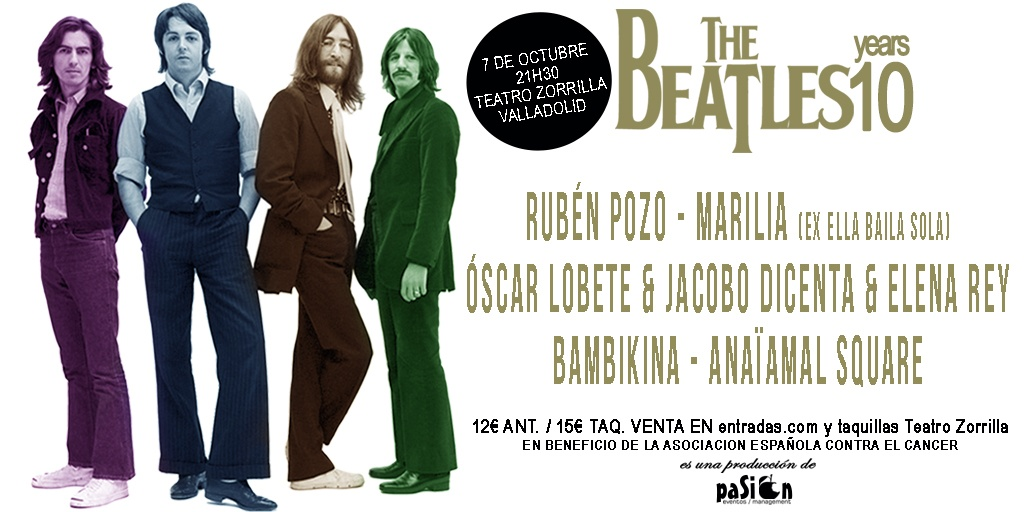 Homenaje benéfico The Beatles 2016