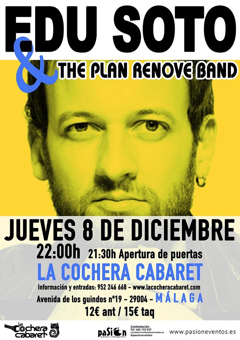 Edu Soto y la Plan Renove Band - La Cochera Cabaret - Málaga