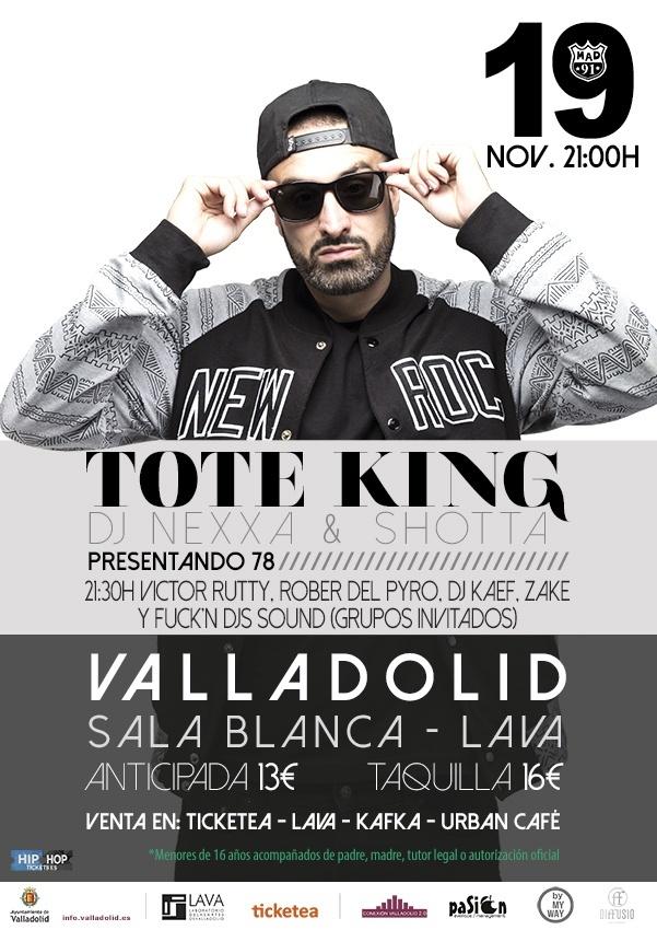 Tote King - Conexión Valladolid