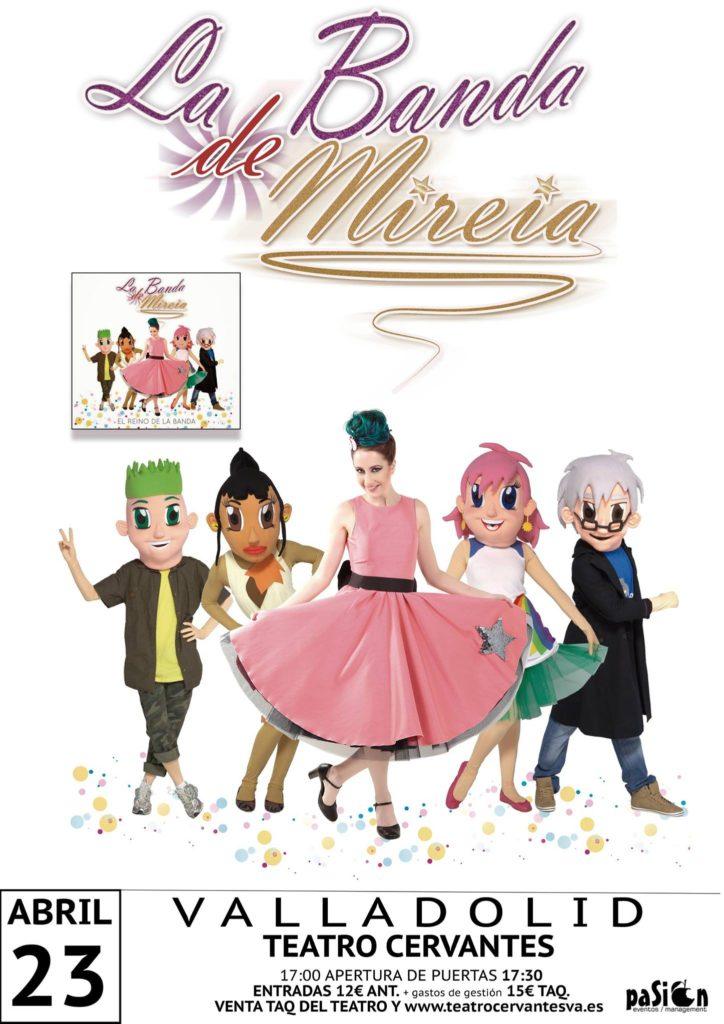 La banda de Mireia - Teatro Cervantes
