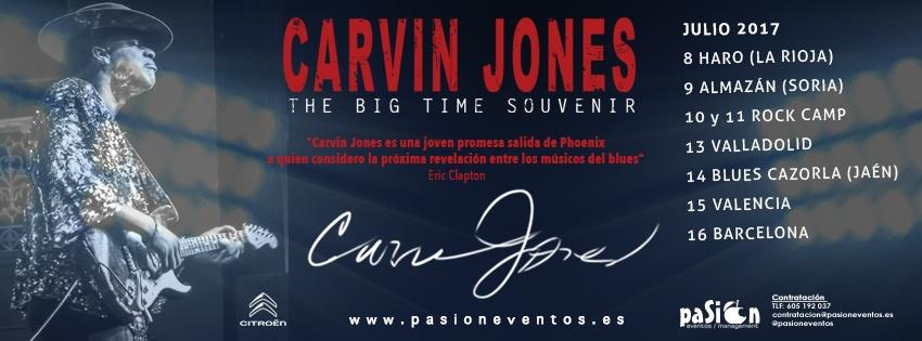 Fechas gira Carvin Jones