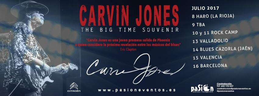 The Big Time Souvenir Tour - Carvin Jones