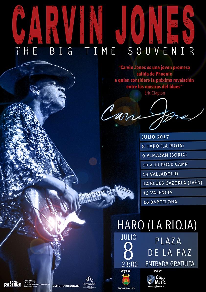 Cartel gira Carvin Jones - Haro