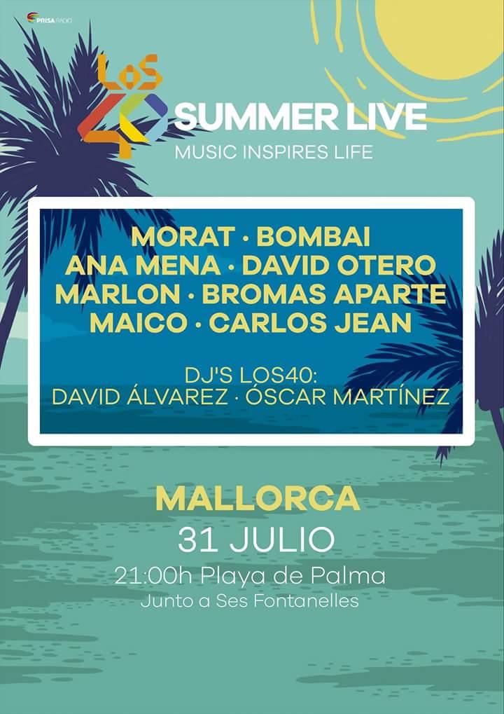Los 40 SummerLive - Bombai