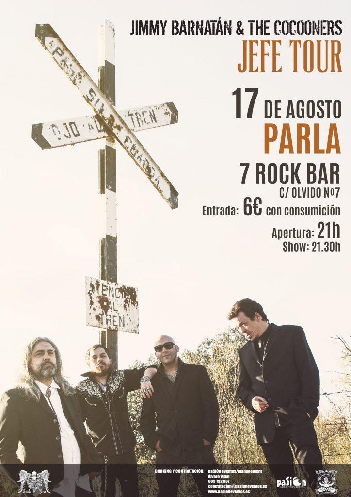 Jefe Tour - Jimmy Barnatán & The Cocooners