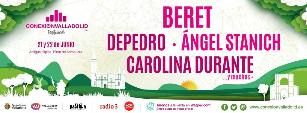 Cartel Conexión Valladolid Festival 2019 - Primeras confirmaciones