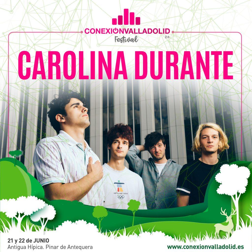 Cartel de Carolina Durante en Conexión Valladolid Festival 2019