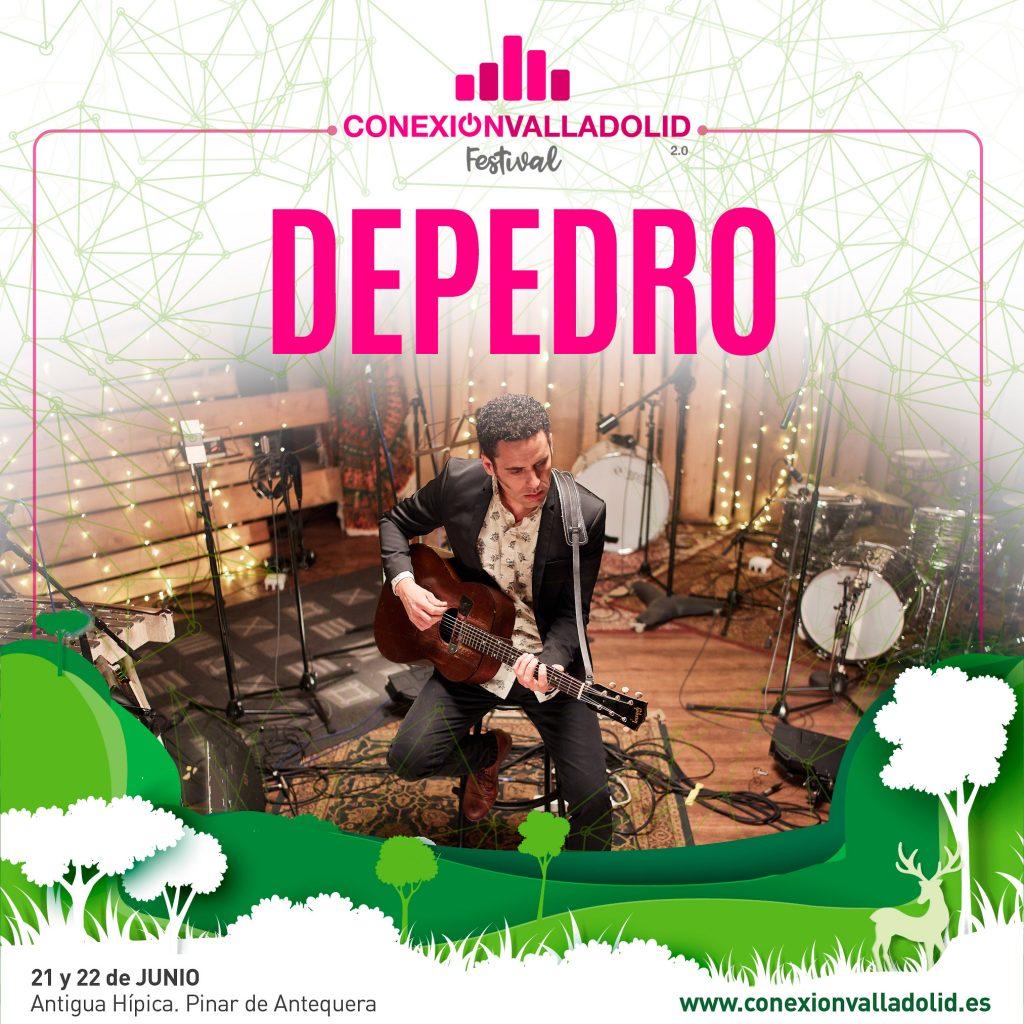 Cartel individual DEPEDRO en Conexión Valladolid Festival