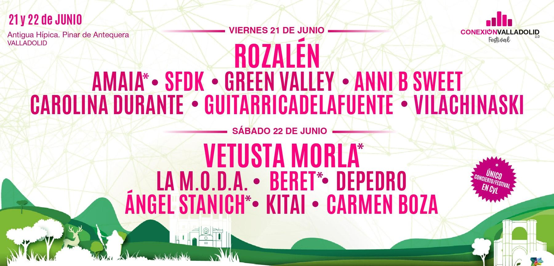 Cartel de Conexión Valladolid Festival 2019