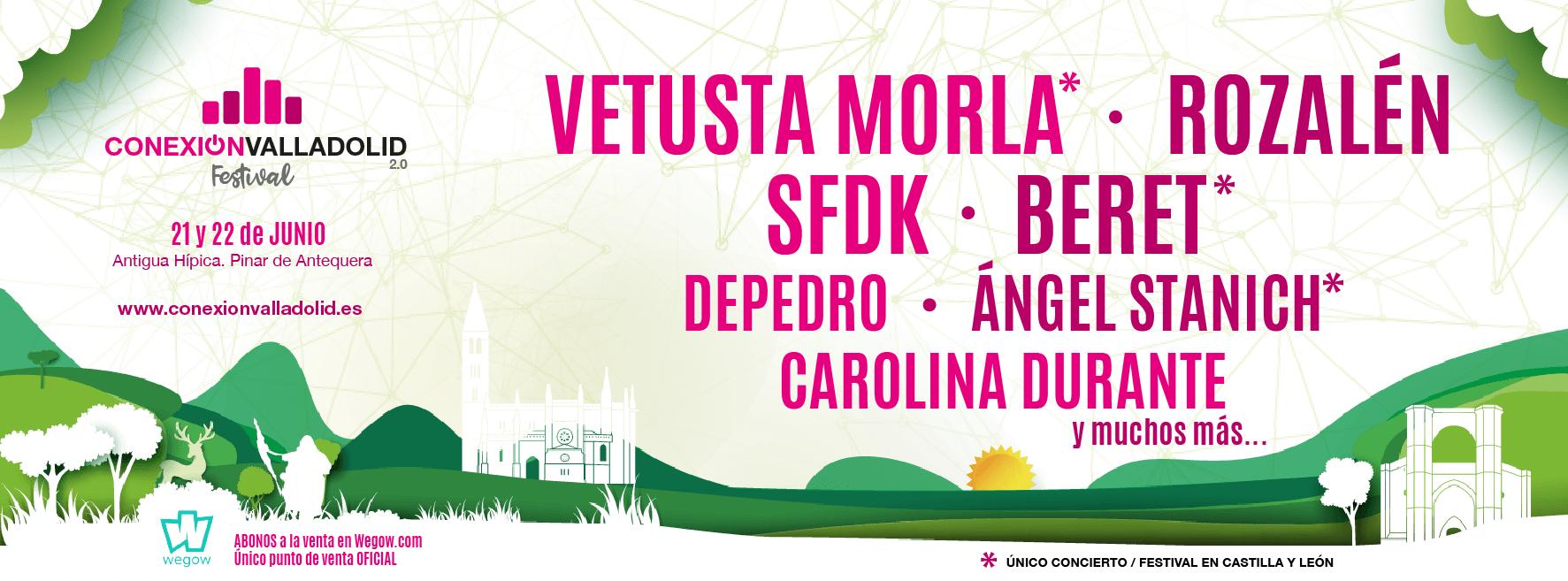 Nuevas confirmaciones para Conexión Valladolid Festival