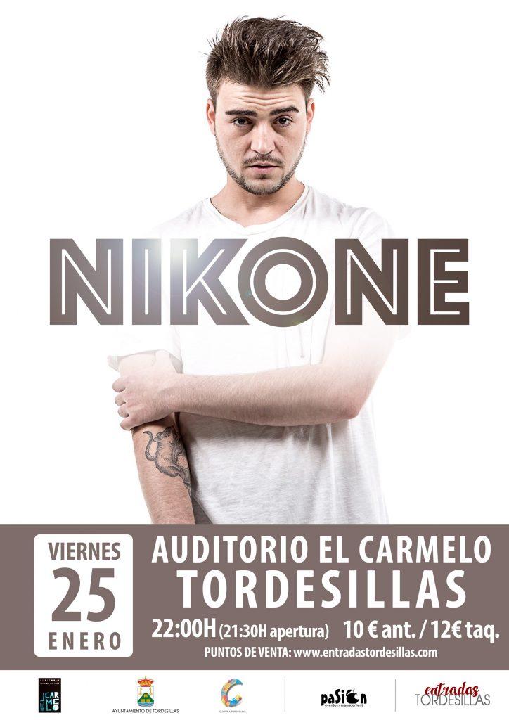 Cartel de Nikone en Tordesillas