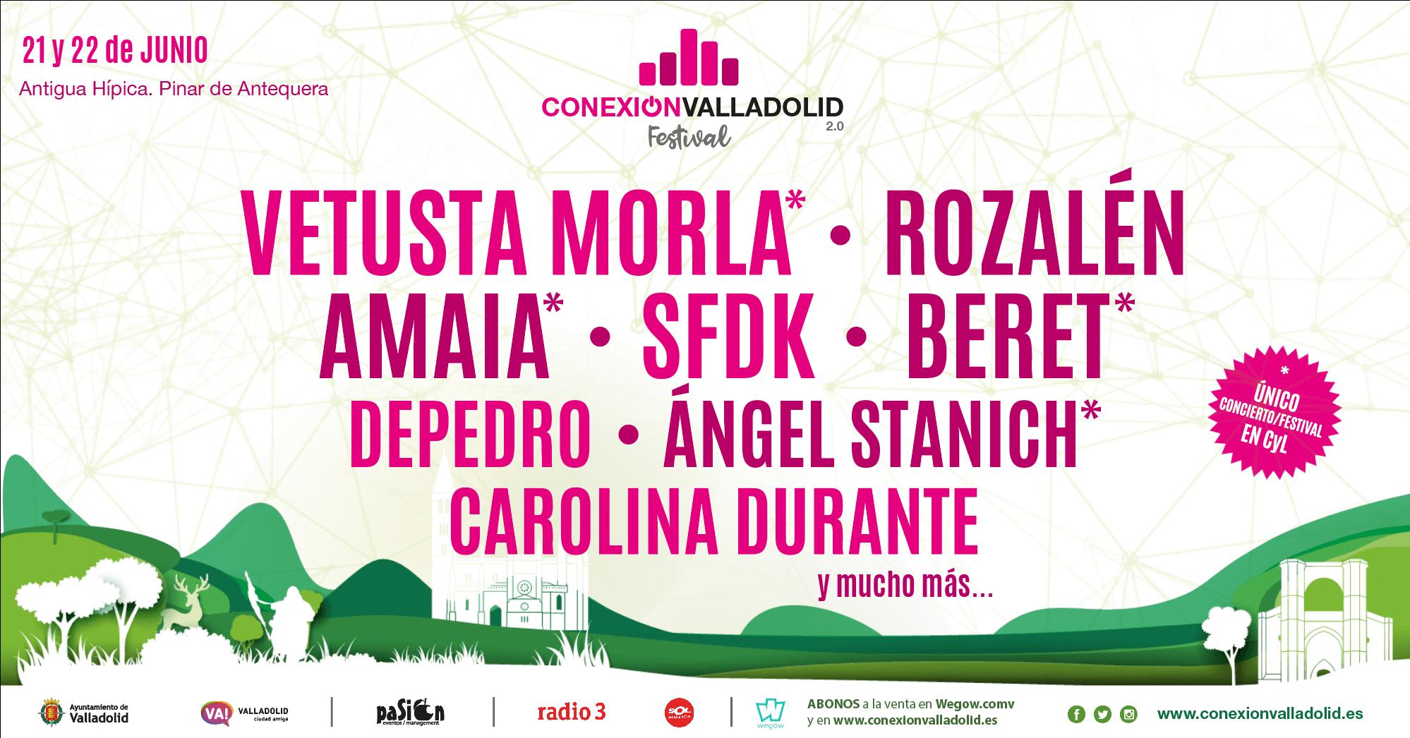 Cartel Conexión Valladolid Festival 2019