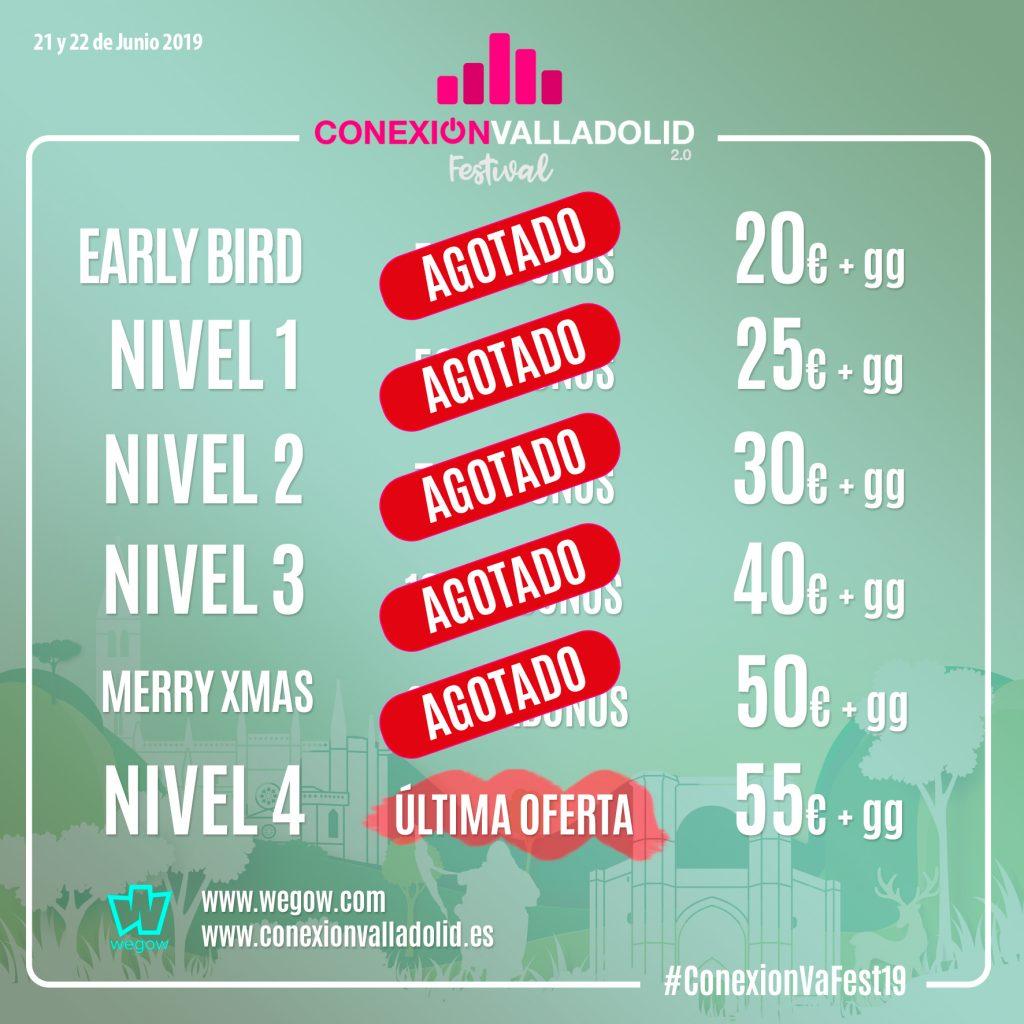 Conexión Valladolid Festival - Última oferta de abonos