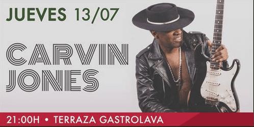 Carvin Jones en Las Veladas Heineken del GastroLAVA - paSiÓn eventos/management