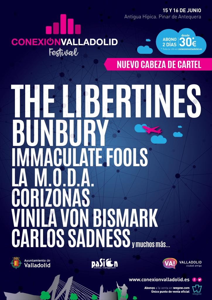 The Libertines cabeza de cartel de Conexión Valladolid Festival