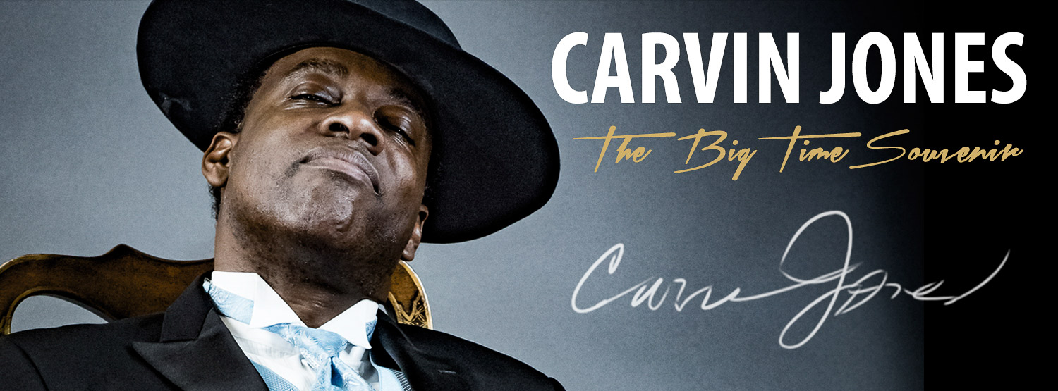 Imagen: Carvin Jones - The Big Time Souvenir