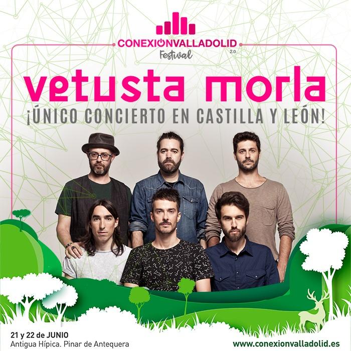 Vetusta Morla, cabeza de cartel en Conexión Valladolid Festival 2019