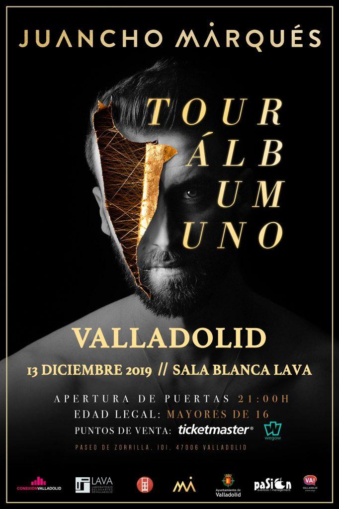 Cartel Juancho Marqués - Valladolid
